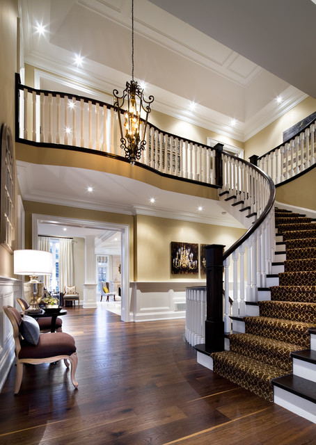 Modern Carpet Stair Runners Toronto, Vaughan, Richmond Hill