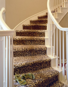 Animal prints carpet Toronto Stair Runner Company Staircase Runners for Stairs