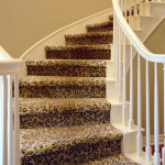 Cheetah print stair runner carpet store
