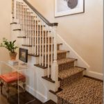 Stairs Runners Burlington carpet stores carpet installation, Leopard print staircase runner on stairs and landing