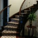 Modern Staircase Runner in Mississauga, Ontario, stair runners Mississauga carpet runner for stairs carpeting