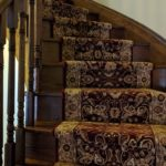 Persian Red Carpet Runner for Staircase carpeting ideas and stair runner in Mississauga