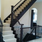 Wool Carpet Runner for Staircase in Toronto, Oakville carpet runners for stairs carpeting cost