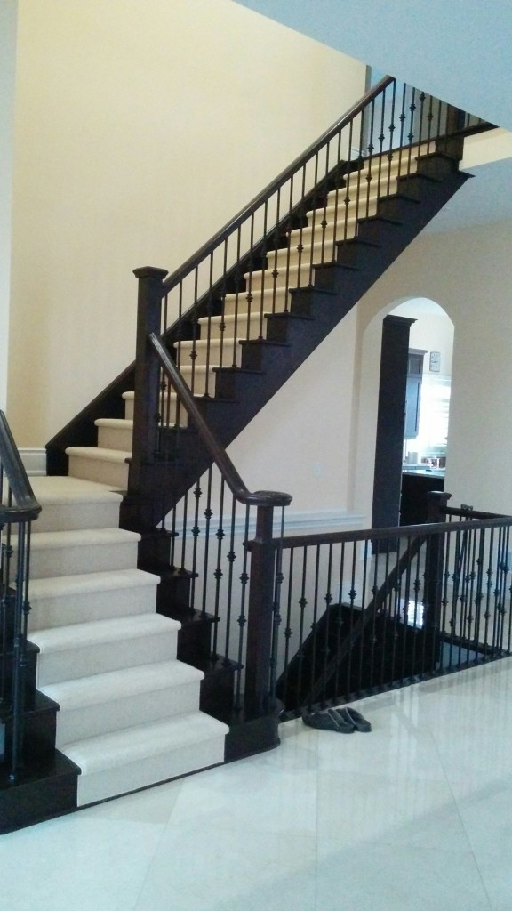 Stair Runner Toronto Ontario Canada Carpet Stairs First