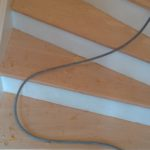 Staircase sanding and refinishing
