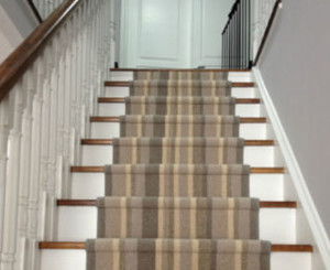 Wool Striped Stair Runners