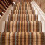 Modern Striped Stair Runners, multi colour carpet runner ideas
