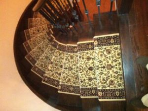 Persian Carpet Stair Runners Toronto, Ontario, Hallway Carpet Runner, Classic Carpet Runners Canada. stair runners installation