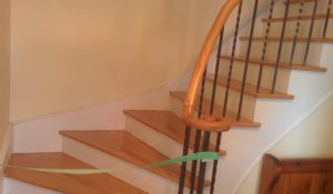 Refinishing Staircase and Railing