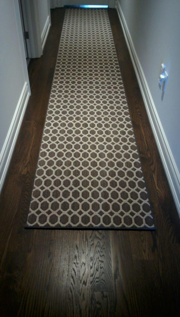 Modern, Geometric Custom Hallway Carpet Runner, Runner for Hall Contemporary Design