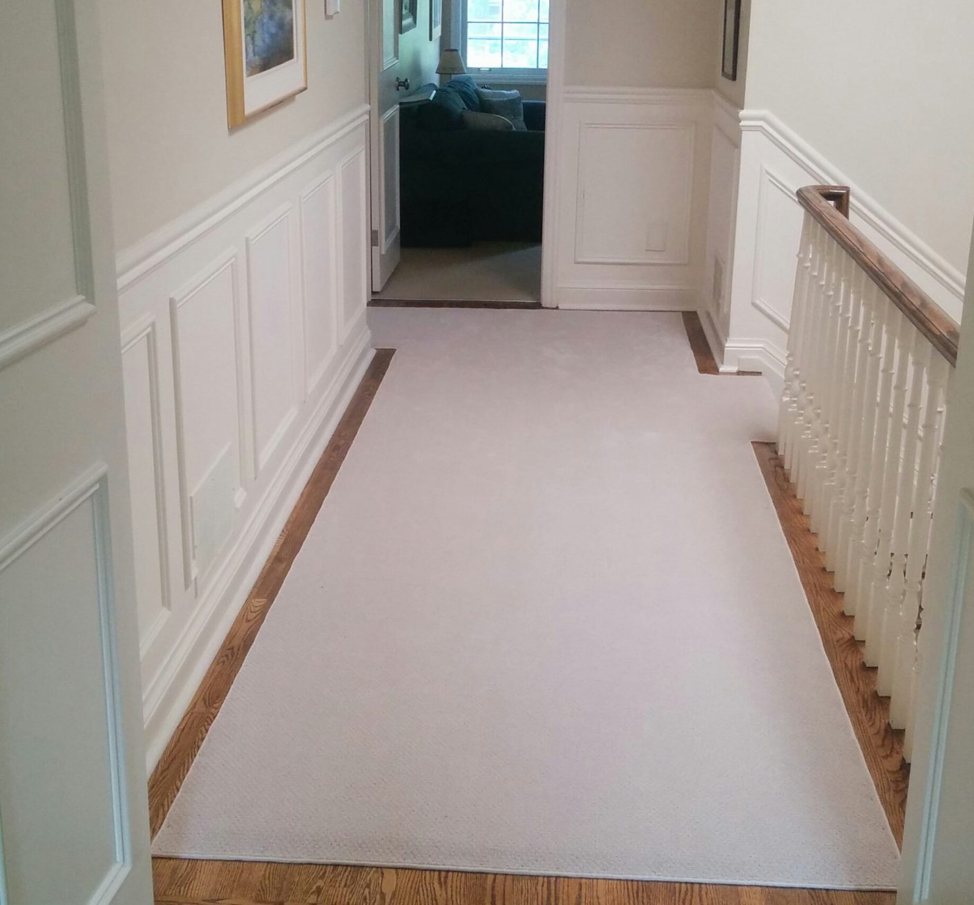 Custom Corridor Carpet Runners and Hallway Carpet Runner solid colour