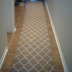 Geometric Moroccan Style Carpet Runner For Hall and Staircase, Colours Available