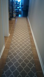 Geometric Moroccan Style Carpet Runner For Hall and Staircase, Colours Available, Etobicoke Carpet Stores
