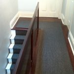 Gray Colour Carpet Runner for Hall and Stairs in Midtown Toronto