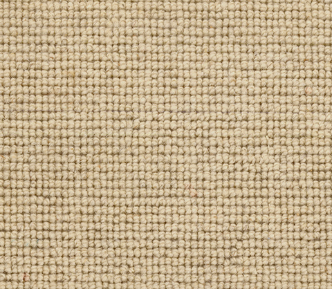 Beige, Ivory, Offwhite Wool Carpet Runner, Berber Carpet