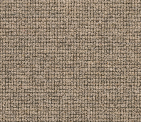 Taupe Colour Wool Berber Carpet Runner