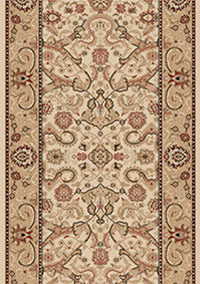 Ivory Persian Carpet Runner