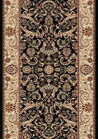 Black Persian Carpet Runners