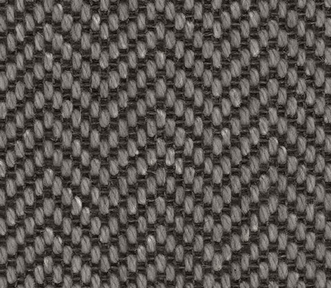 Dark Grey Herringbone Wool Carpet Stair Runner Company