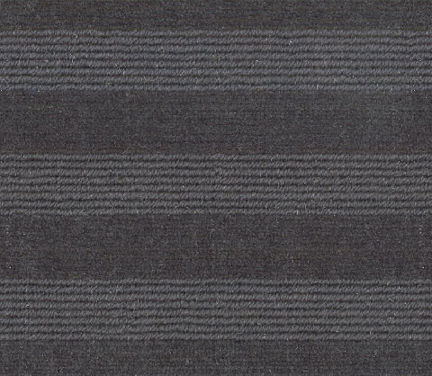 Charcoal Grey Wool Carpet Runner For Stairs and Hallway
