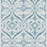 Modern Blue White