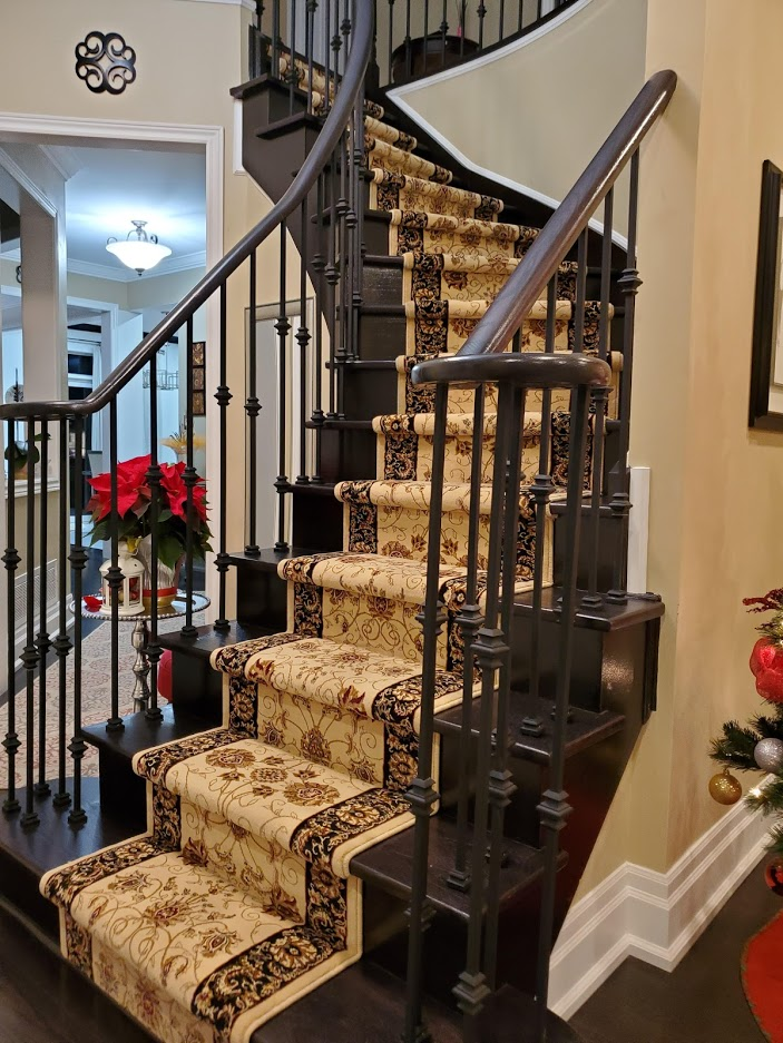 Persian Carpet Runner for Stairs and Hallway Schomberg Ontario, Canada