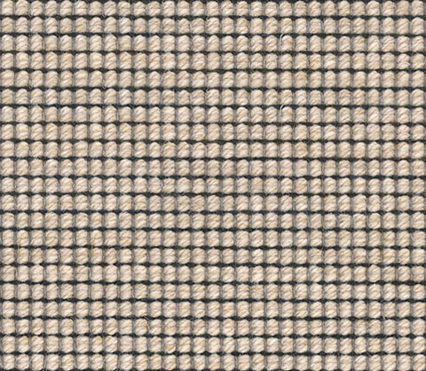 Beige Black Wool Carpet Runner