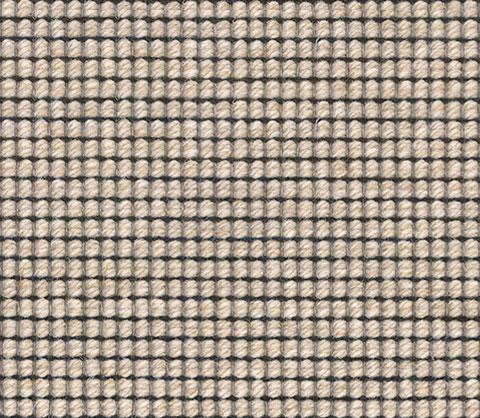 Beige Black Wool Carpet Runner