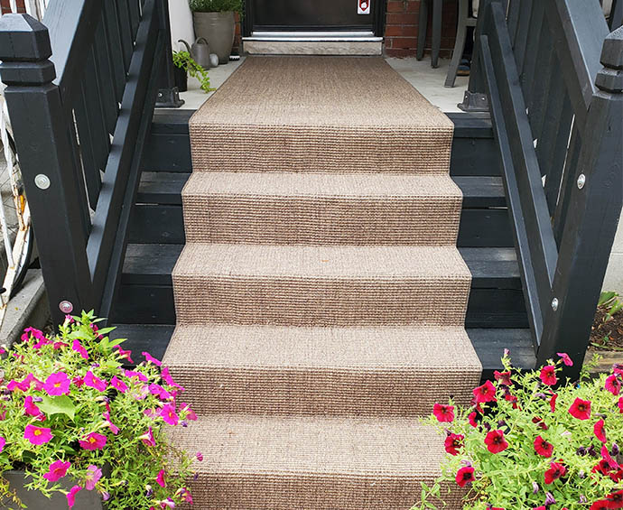 Outdoor Sisal Stair Runner