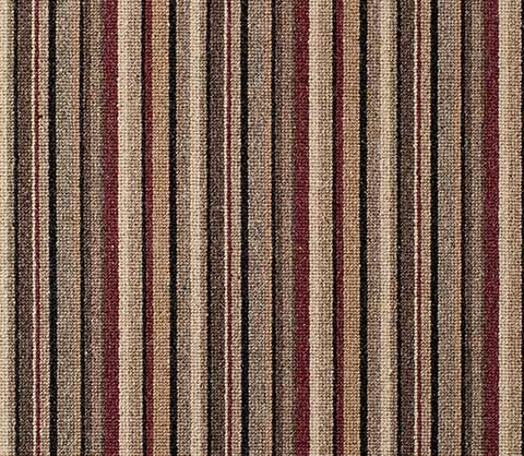 Red Black Wool Striped Carpet Runner for Stairs and Hallway North York Toronto Ontario