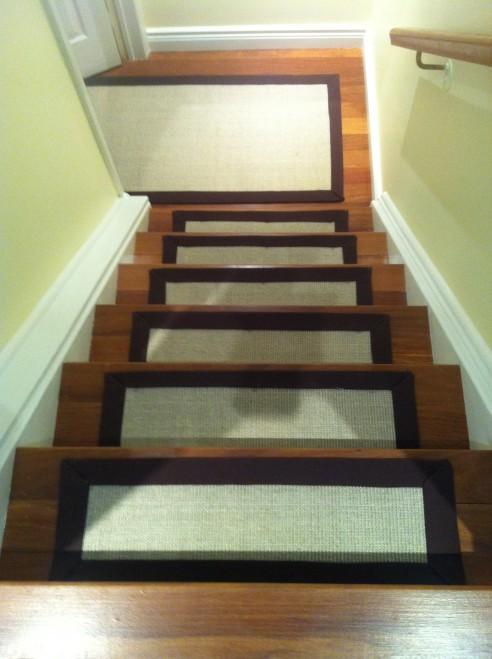 Sisal Carpet Runner Stair Treads Natural
