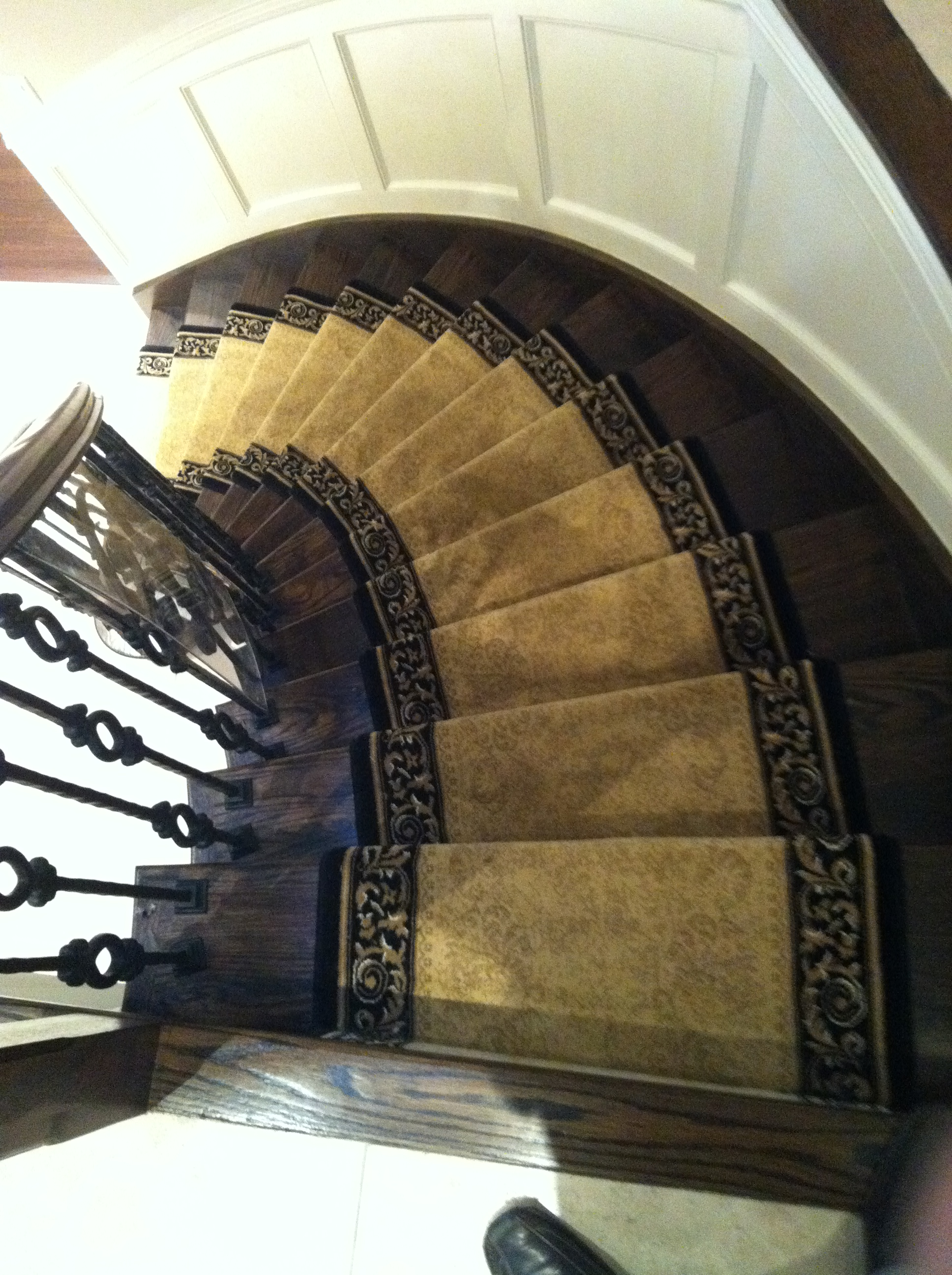 persian stair runner carpet runners on curve stairs black border