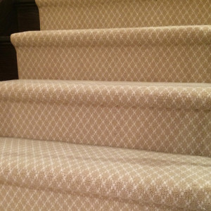 Berber Wool Carpet Runners on staircase in Toronto Ontario