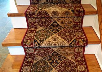 Persian Carpet Stair Runner Caledon East Ontario