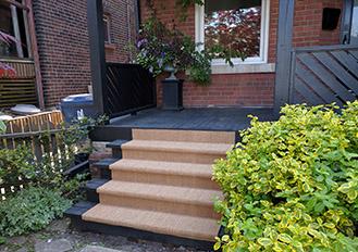 Outdoor Carpet Sisal & Jute Carpet, Outdoor carpet runner on wood staircase